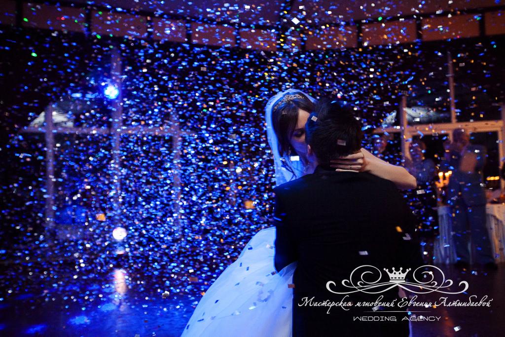Спецэффекты на свадьбе