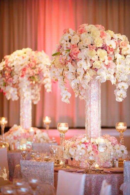 Роскошные гостевые композиции на vip-свадьбе