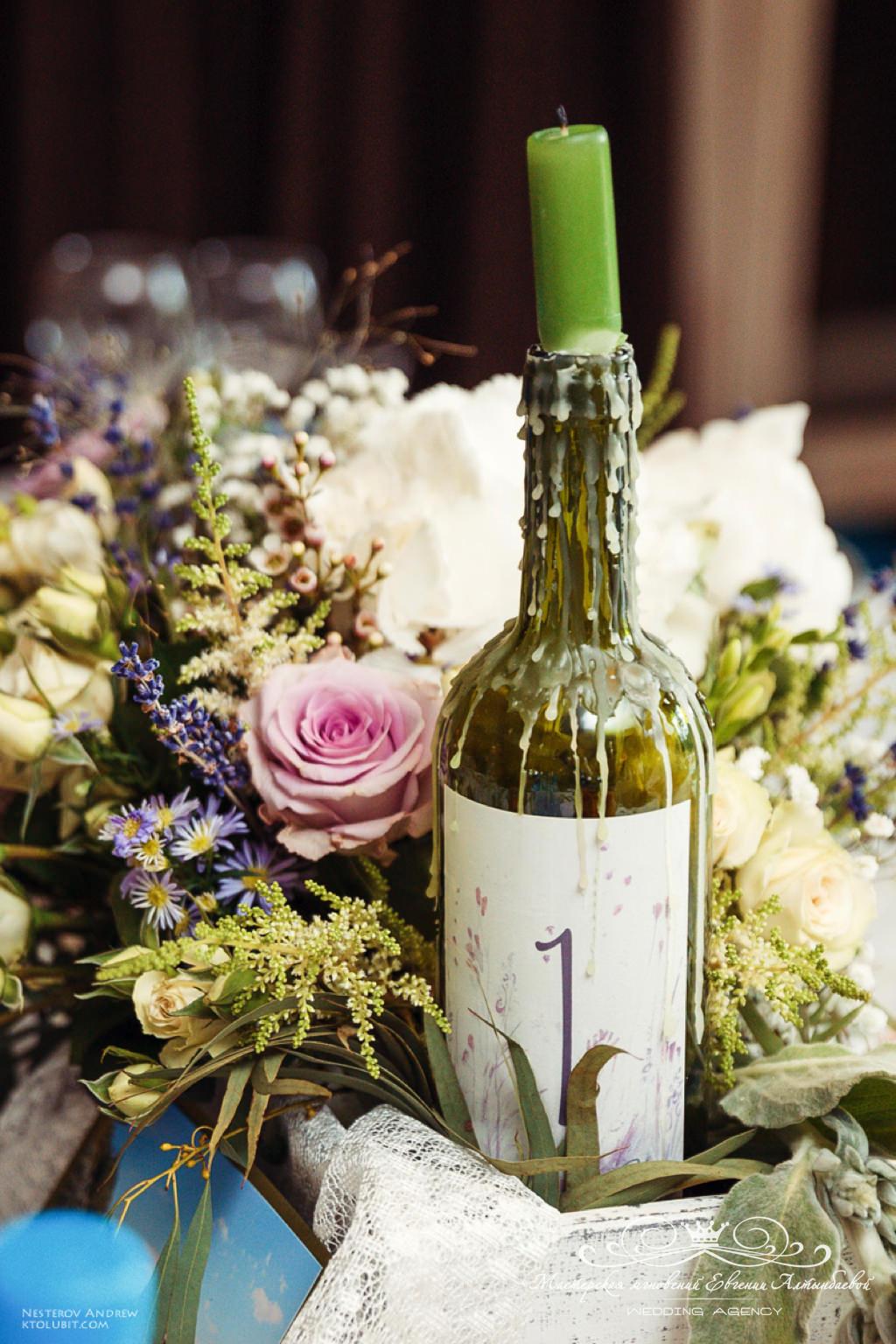 Оформление цветами свадьбы в стиле прованс