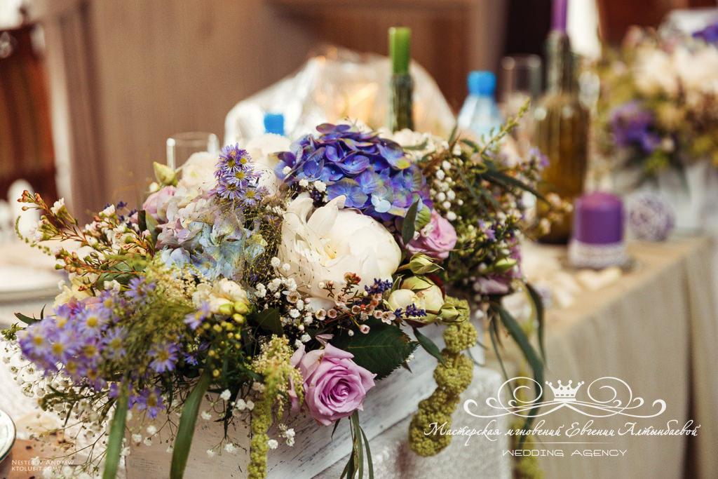 оформление свадьбы цветами спб