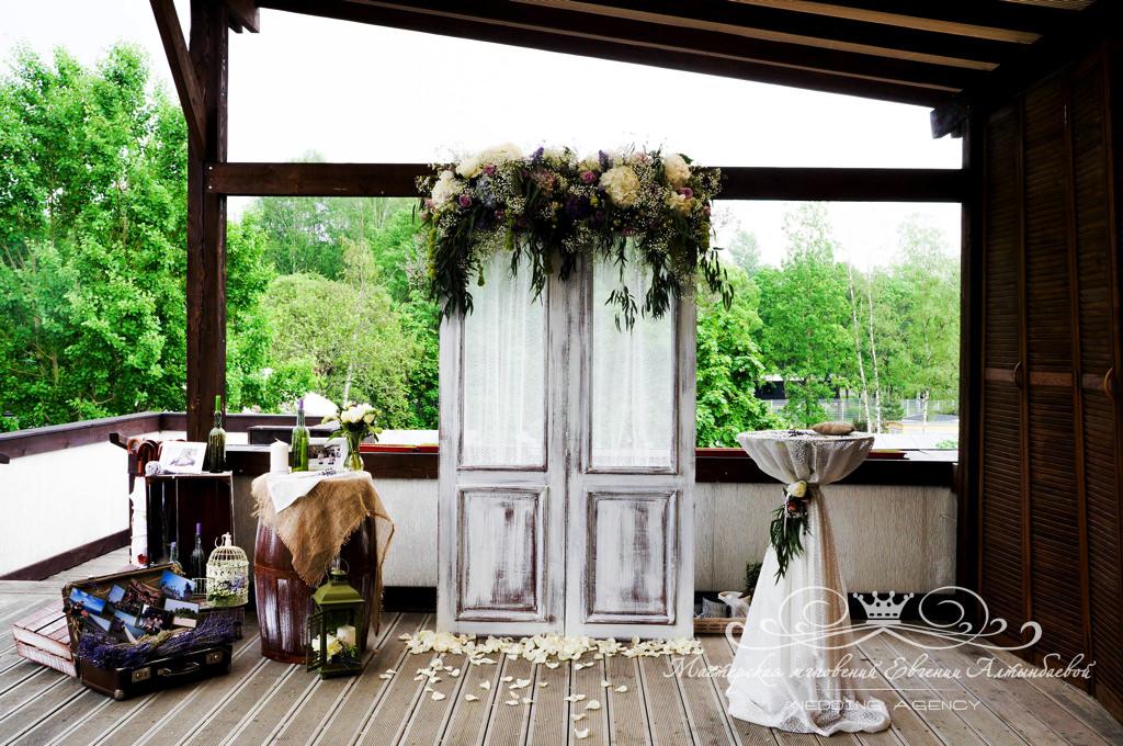Детали декора на свадьбе в стиле прованс