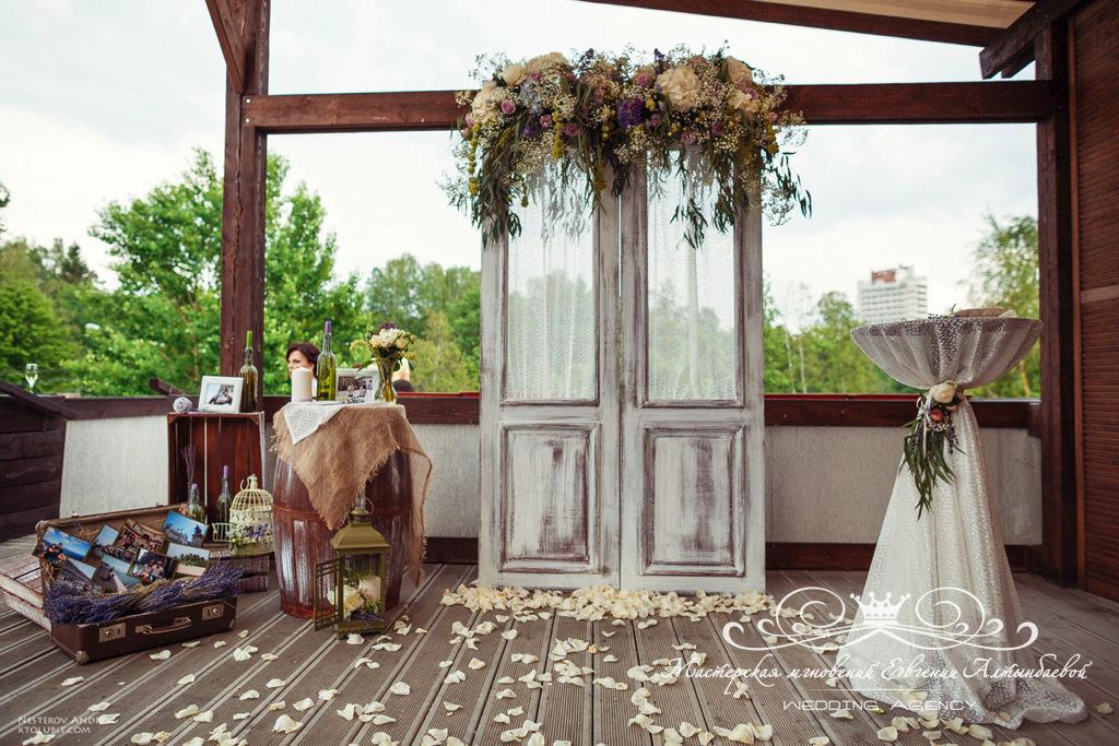 Роскошный свадебный декор