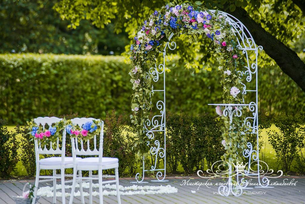 Кованная свадебная арка