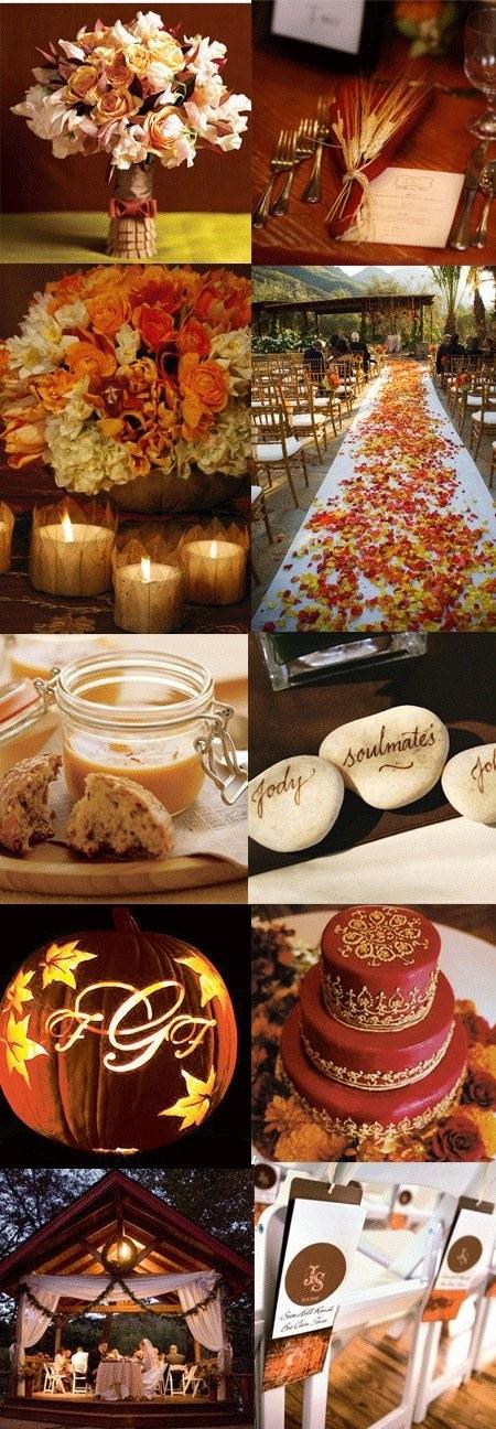 Идеи для свадьбы осенью