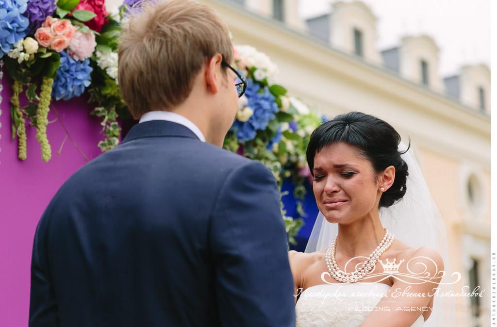 Клятва жениха на выездной регистрации