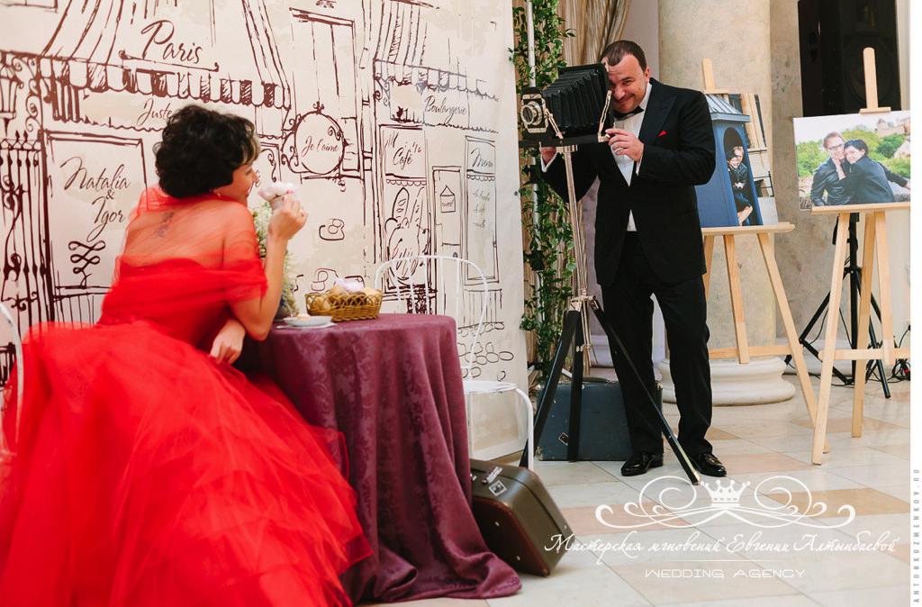 оформление фотозоны на свадьбе в Летнем дворце