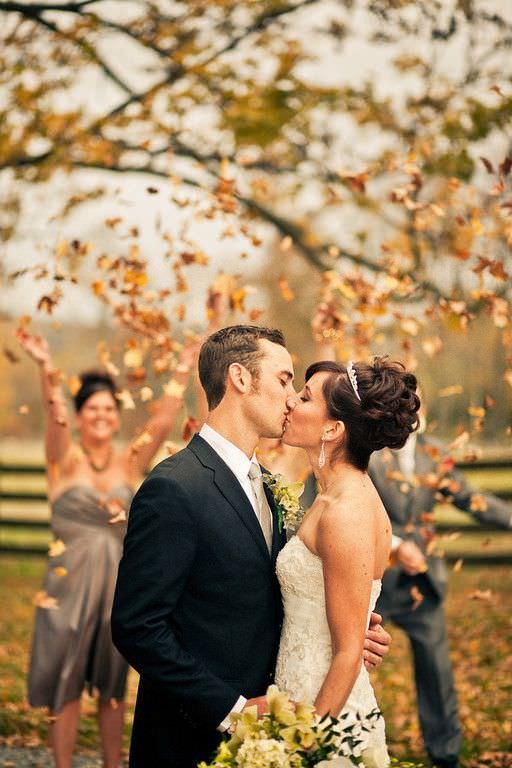 Организация свадьбы осенью