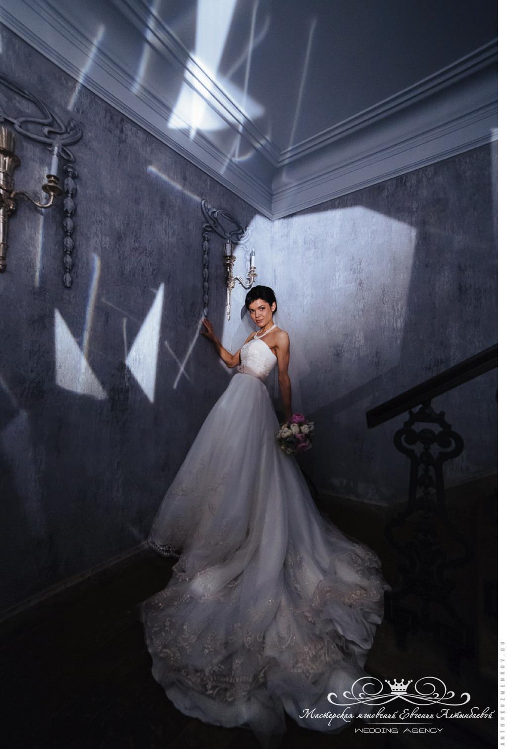 Роскошный образ невесты продуманный до мелочей