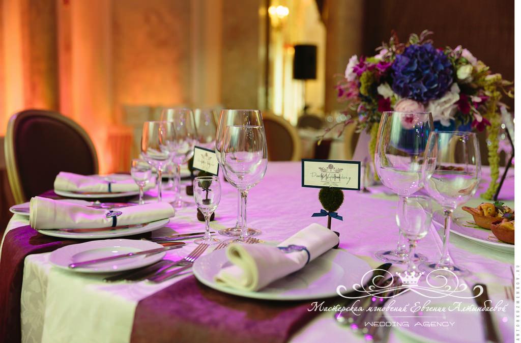 Стильное оформление свадьбы в Летнем дворце
