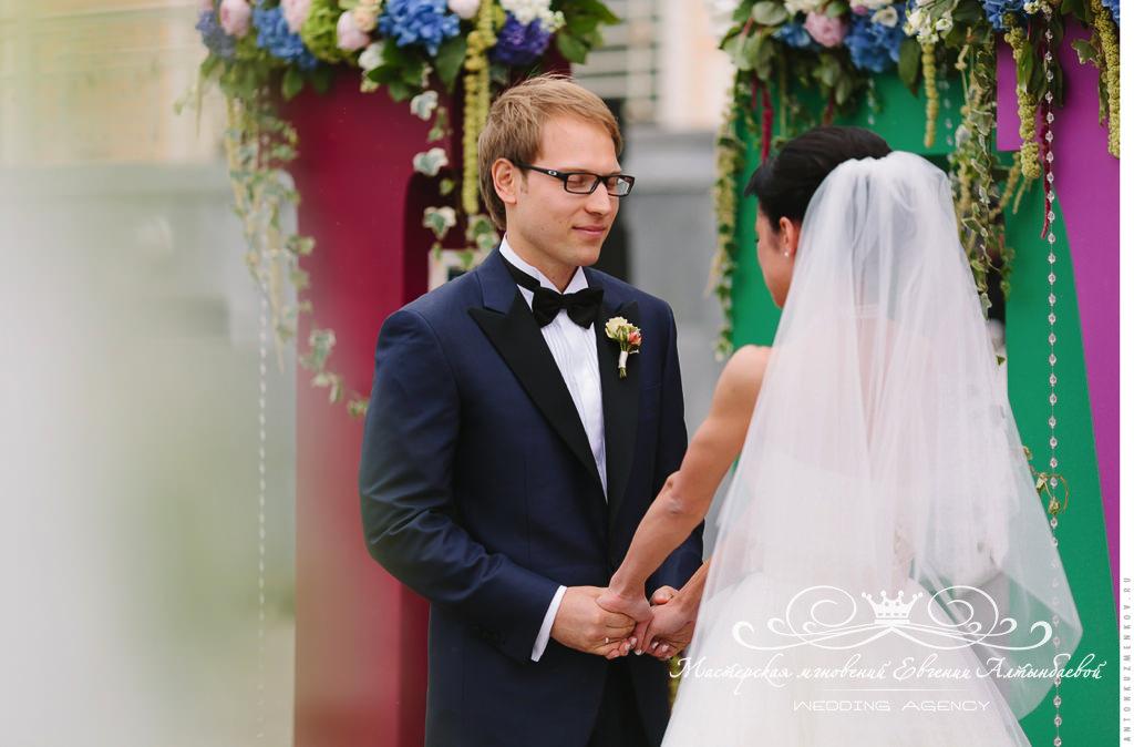 Свадьба в Летнем Дворце в Петербурге