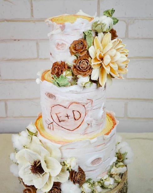 Растик свадебный торт