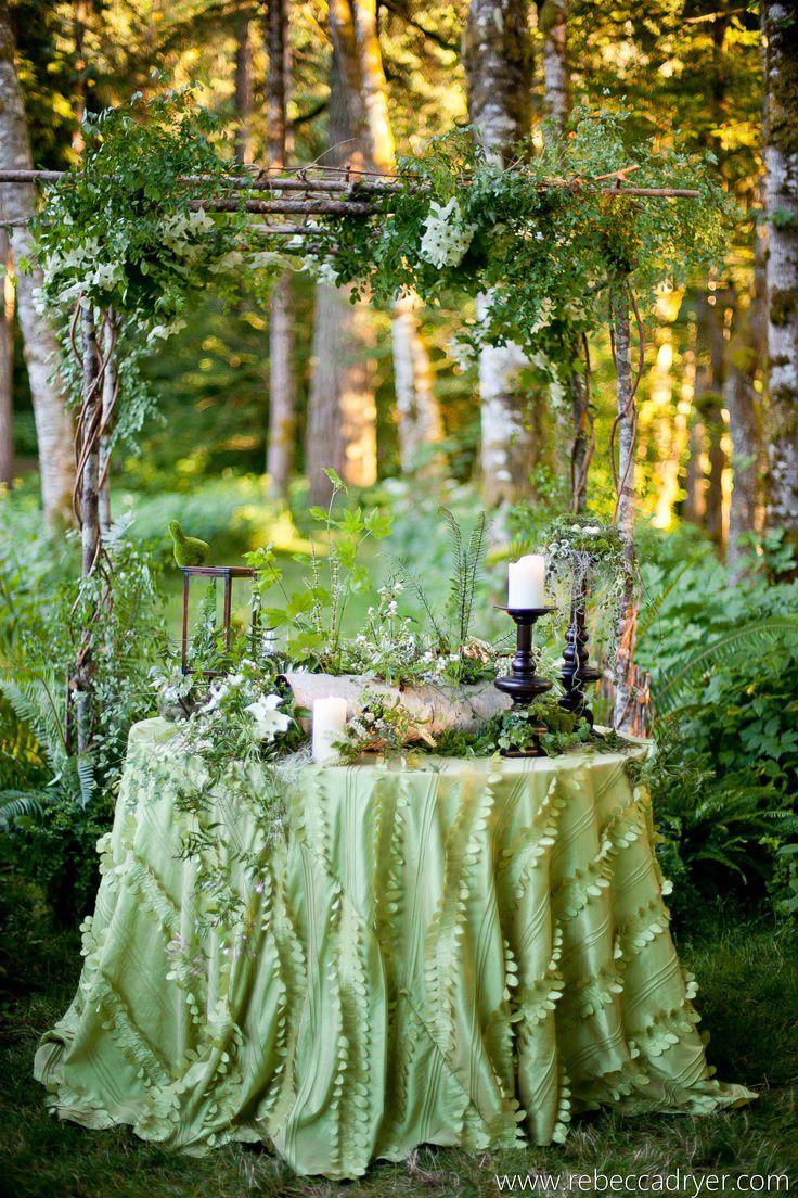 Декор эко-свадьбы