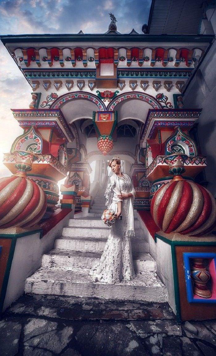 Антураж и декор для свадьбы в русском стиле