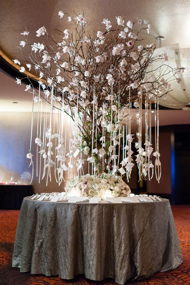 Свадебное дерево пожеланий ручной работы