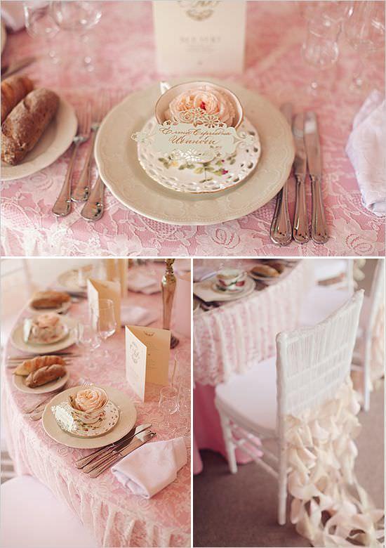 Внимание к деталям в свадебном декоре