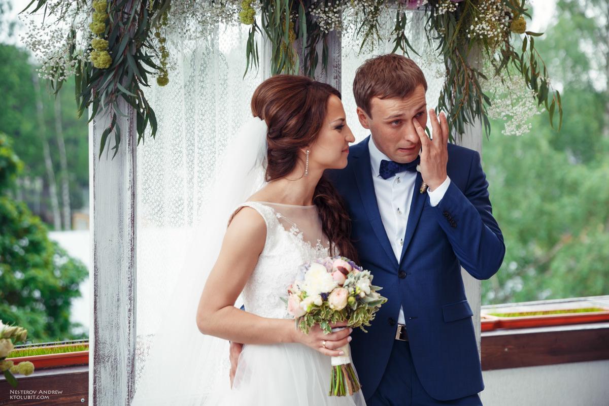 Незабываемые эмоции на свадьбе