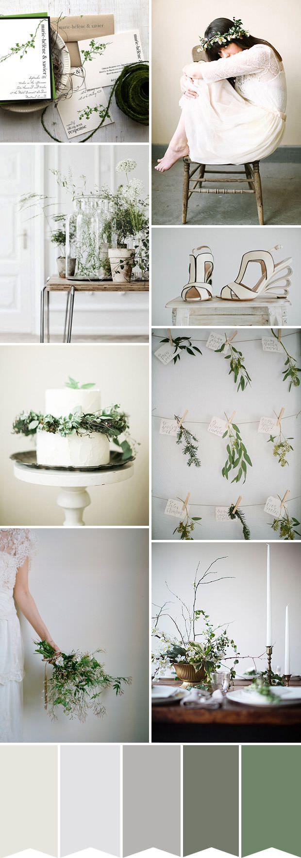 Эко стиль в свадебном декоре