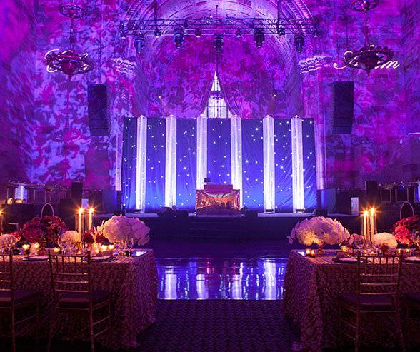 Сценические конструкции на свадьбе