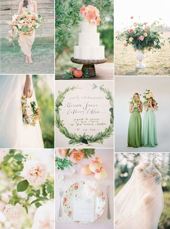 Весеннее свадебное вдохновение