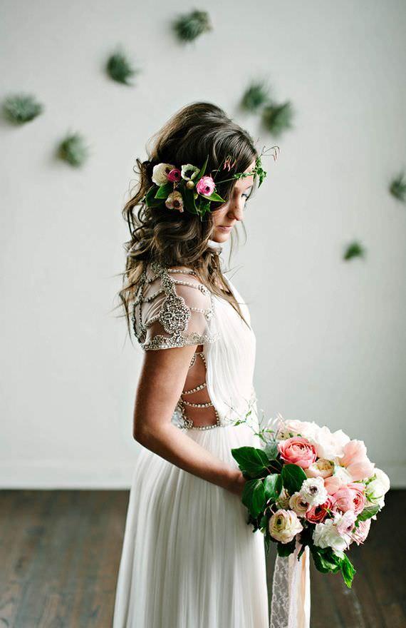 Весений букет невесты