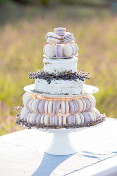 Свадебные десерты в стиле прованс