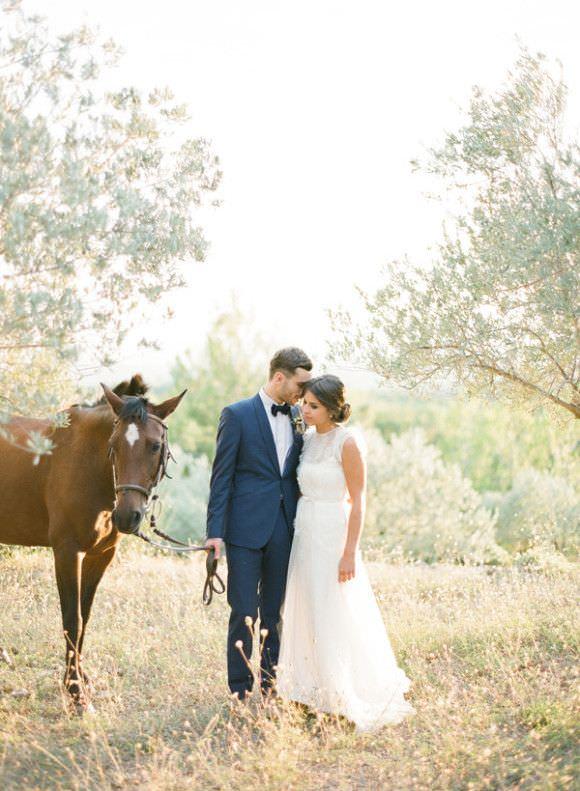 Образ жениха и невесты для свадьба в стиле прованс