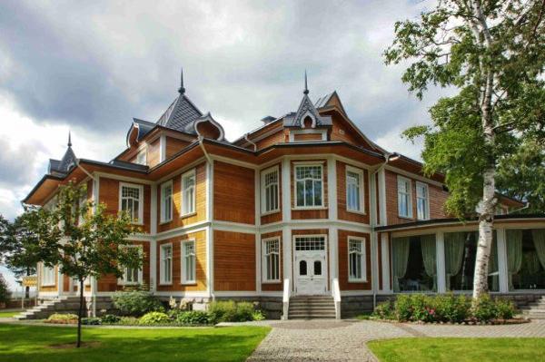 Организация свадьбы в загородном клубе Скандинавия