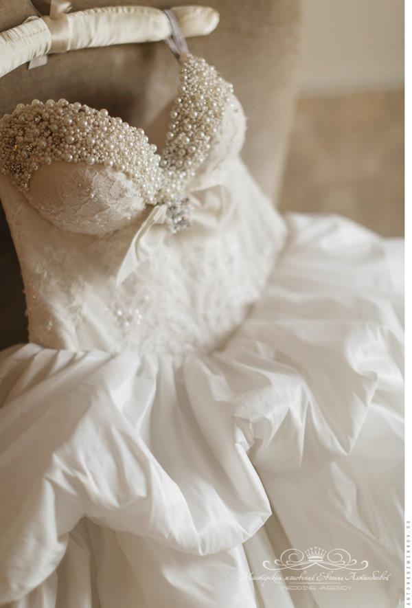 Шикарное свадебное платье на заказ