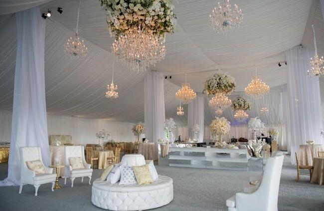 Свадьба в шатре в СПб