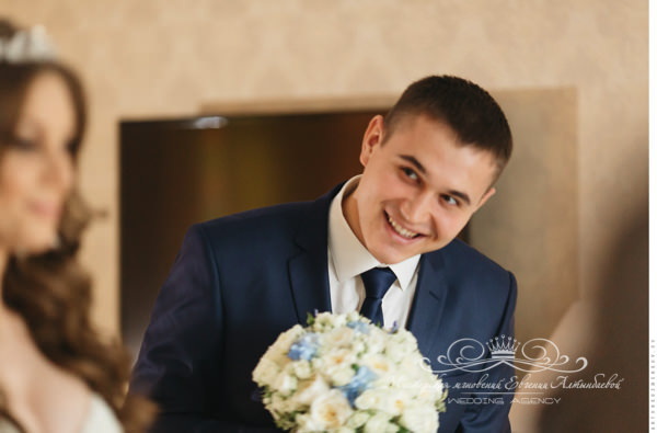 Встреча жениха невесты в день свадьбы