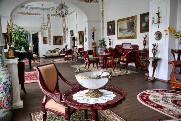 Организация свадьбы в роскошных классических интерьерах