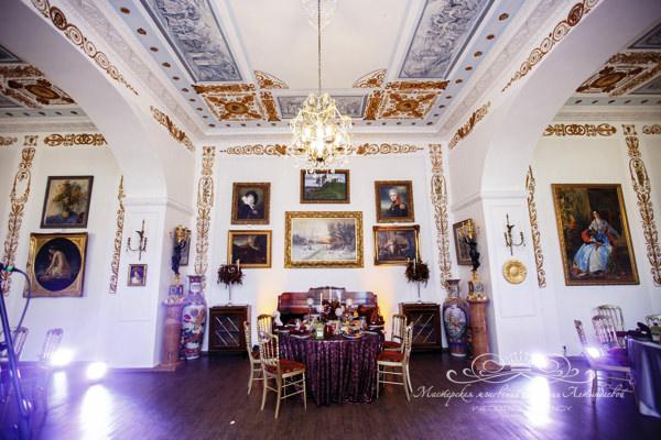 Банкетный зал для свадьбы в усадьбе Марьино