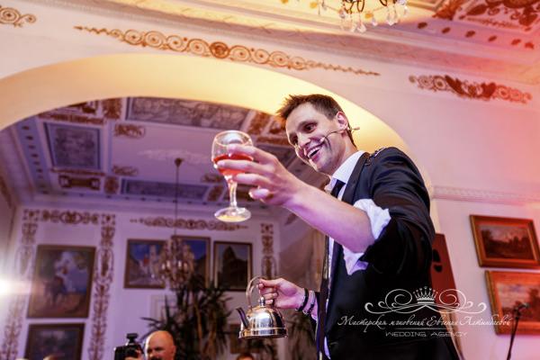 Иллюзионист Илья Ларионов на свадьбе