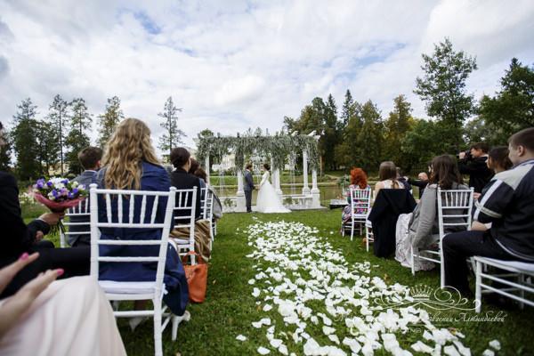 Организация свадьбы в усадьбе Марьино