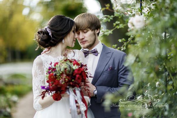 Роскошный образ невесты