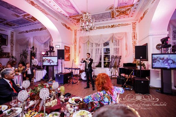 Шоу программа для свадьбы в усадьбе Марьино