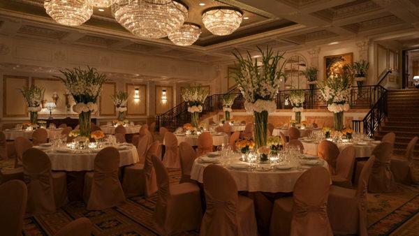 """Зал для свадебного банкета в отеле """"Four Seasons"""""""