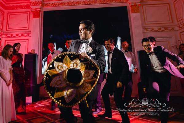 Свадьба в Мексиканском стиле в Петербурге