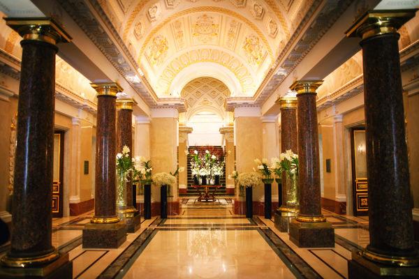 Свадьба в шикарном отеле в Петербурге