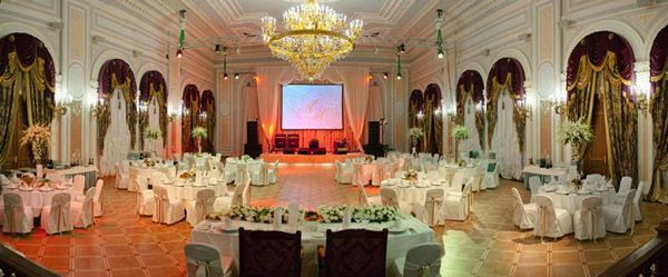 Дворцовый зал для проведения свадьбы в СПб