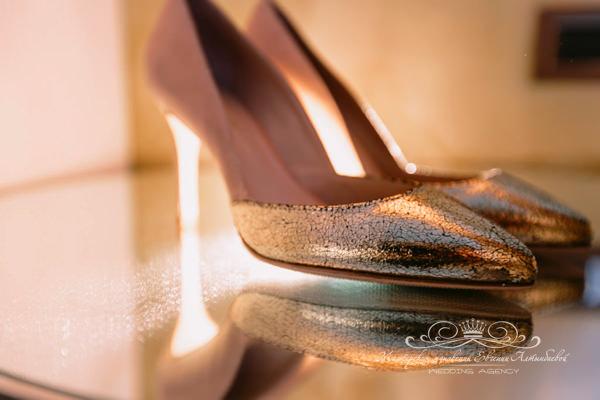 Идеальные туфли к свадебному платью