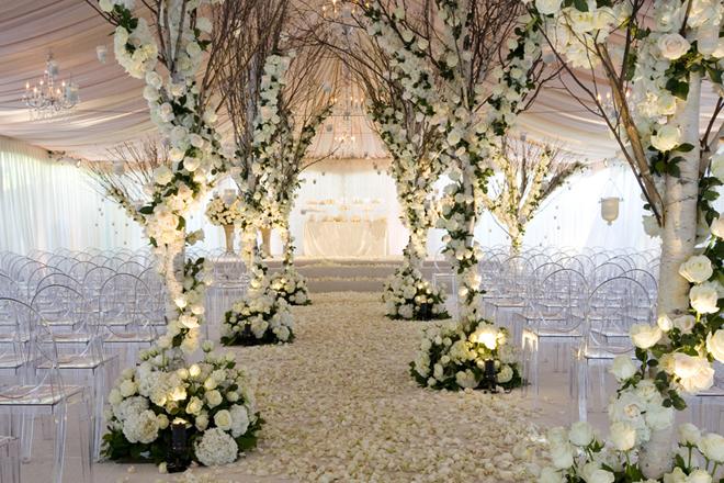 Шикарная свадебная регистрация в Петербурге