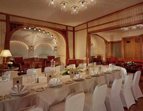 Свадебные площадки гранд-отеля Европа