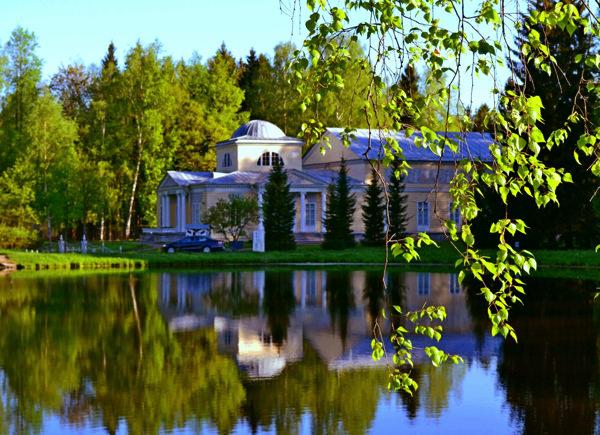 Свадьба в Розовом павильоне в Павловске