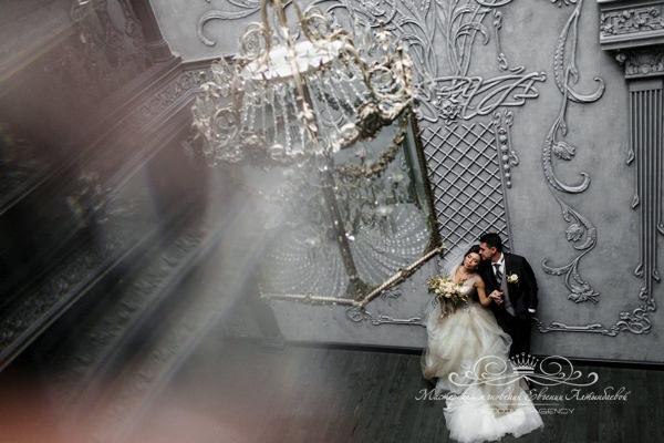 Свадебная фотосессия в особняке Сан Галли