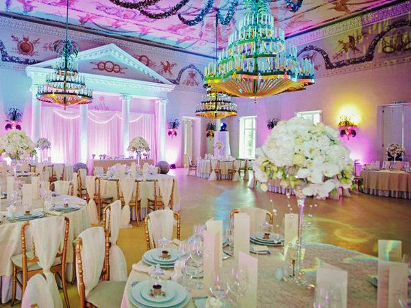 Свадебное оформление павильона роз