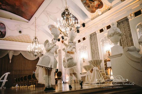 Встреча гостей на свадьбе в Летнем дворце