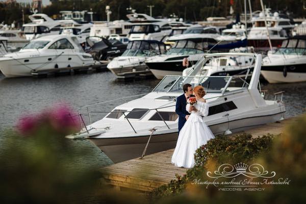 Аренда яхты на свадьбу