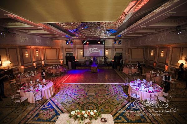 Банкетный зал Монферран отеля four seasons для проведения свадьбы
