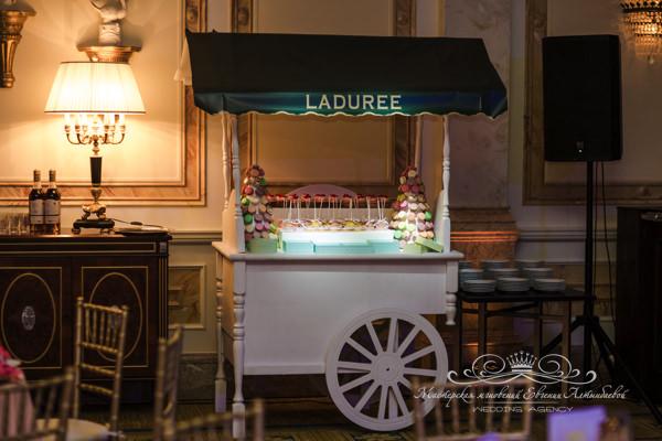 Кэнди бар на свадьбе в отеле four seasons